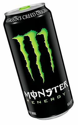 Monster Energy Drink 16 Ounce (Pack of 24) Original 16 Ounce (Pack of 24)