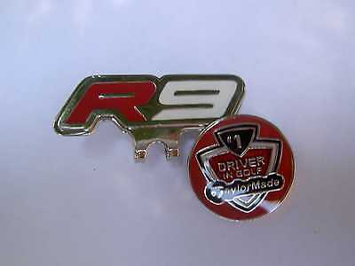 TaylorMade R9 ~ Golf Ball Marker Hat Clip Taylor Made Red