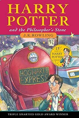 Harry Potter and the Philosopher's Stone (Book 1) by Rowling, J.K Hardback Book