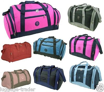 Mens Womens Ladies Simple Gym Sports Travel Holdall Grip Maternity Strong Bag
