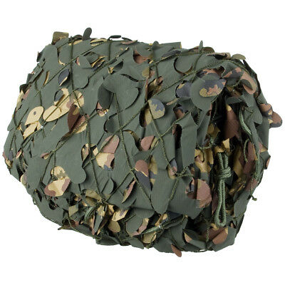 Camosystems 3x3m Army Camouflage Net Camo Screen Hunting Blind Vegetato Woodland