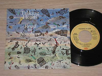Talking Heads - Road To Nowhere / Television Man - 45 Giri 7""