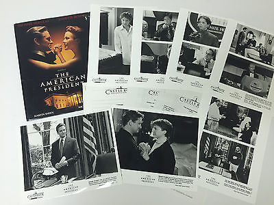 The American President - Movie Press Kit - Aaron Sorkin - 7 Photos!