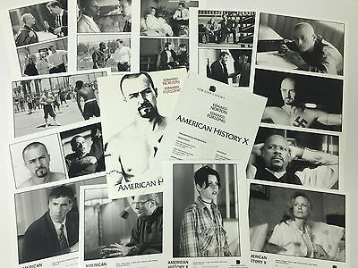 American History X Press Kit - Edward Norton - 13 Black & White Photos