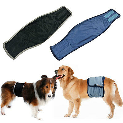 Male Pet Dog Cotton Belly Band Diaper Sanitary Underwear Physiological Pants EW