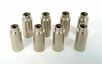 """Brass Swage Threaded Standoffs, 6/32 x 1/2"""" Long: 8/Lot: HH Smith 4124"""