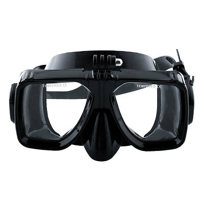 Scuba Snorkelling Diving Mask Underwater Compatible All Spearfishing For GoPro