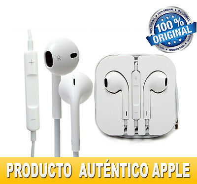 Auriculares Earpods Apple Originales para iPhone 6 s Plus con microfono