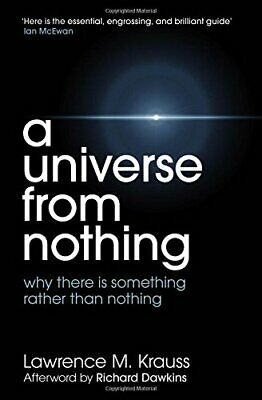 A Universe From Nothing by Krauss, Lawrence M. Book The Cheap Fast Free Post