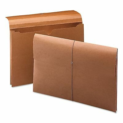 """Smead 2"""" Accordion Expansion Wallet File Folder, Redrope - Legal Size 2 PACK NEW"""