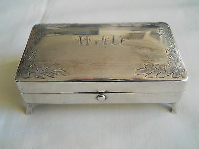 Absolutely Lovely Ryrie Birks Sterling Silver Dresser Jewelery Box