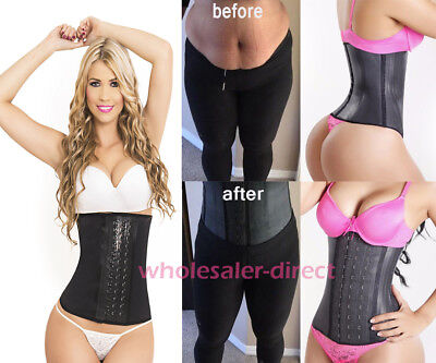 Fajas Reductoras Colombianas Shapewear Shaper LATEX Waist Cincher Trainer Girdle