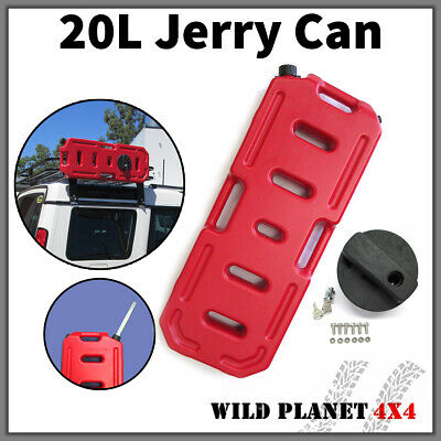 20L Jerry Can Fuel Container With Holder Spare 4WD 4X4 Container Heavy Duty