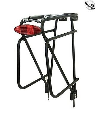 SPORT DIRECT Magline Alloy Cycle Pannier Rack - Black - SCA200