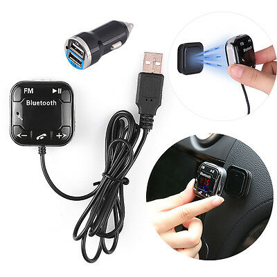 Bluetooth Auto KFZ FM Transmitter SD/USB MP3 Musik Player Freisprechanlage AUX