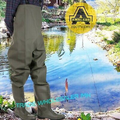 Chest Waders Tyne from Amblers  Steel toecap fishing-Industrial flood work