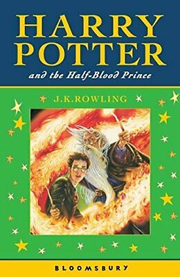 Harry Potter and the Half-Blood Prince by Rowling, J. K. Paperback Book The