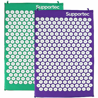 Supportec Acupressure Massage Mat Yoga/acupuncture Stress/pain/tension Relief