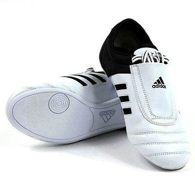 Adidas Kick 1 Martial Arts Trainers Karate Taekwondo Shoes White