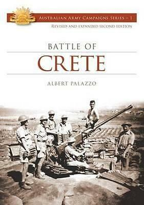 NEW The Battle of Crete By Albert Palazzo Paperback Free Shipping