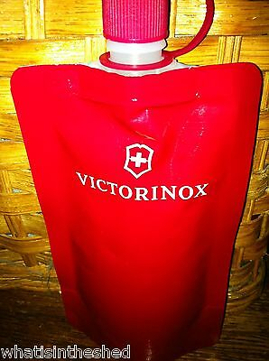 Alcohol or beverage  collapsible  Victorinox bag reusable  great for traveling