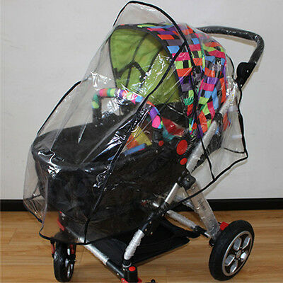 New Stroller Rain Cover Universal Infant Baby Pushchair Wind Shield Dust Shield
