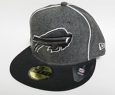 New Era 59FIFTY BUFFALO BILLS THE PIPING Hat ($39) WOOL Cap NFL Fitted 5950 RARE