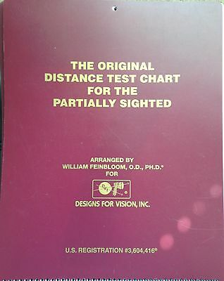 Feinbloom Distance Vision Chart