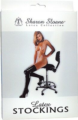 Halterlose Strümpfe Hold Ups Latex Stockings Small