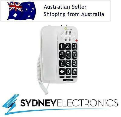 Oricom Big Button Speakerphone- Stylish For Home Or Commerical Use- TP58WH