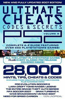Ultimate PS2 Cheats, Codes and Secrets: v. 9 by Papercut Paperback Book The