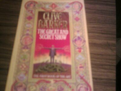 The Great and Secret Show by Barker, Clive Paperback Book The Cheap Fast Free
