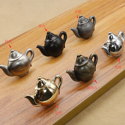 Vintage Retro Teapot Cabinet Door Drawer Cupboard Pull Handle Knob Hardware DIY