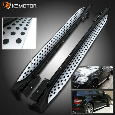 06-11 Mercedes W164 ML Class 320 350 Side Step Nerf Bars Running Boards Pair