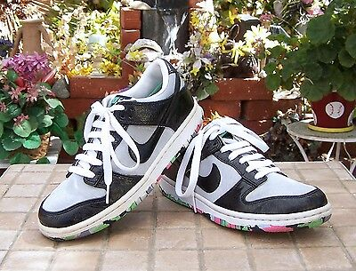 competitive price 4c88c 17617 RARE 2008 Nike dunk low SilvBlk premium women size 6.5
