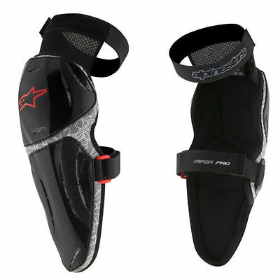 Alpinestars MX17 MX Motocross Mountainbike Vapor Pro Knee Armour (Pair) Adults