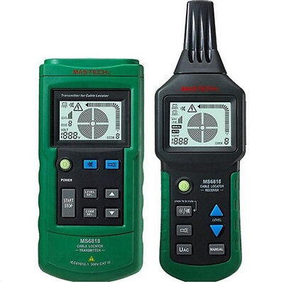 MASTECH MS6818 Mastech Wire Cable Metal Break Locator Tester MS-6818 AU