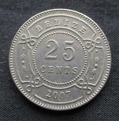 25 Cents Belize 2007 #2938