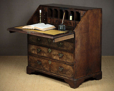 Antique George II Walnut Bureau c.1760.