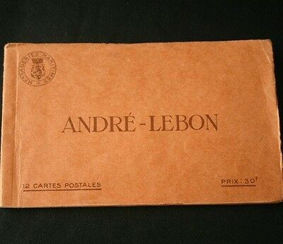 Messageries Maritimes SS ANDRE LEBON Postcard Book