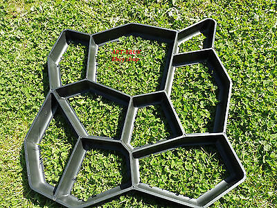50x50 Paving Brick Patio Concrete Slabs Path Pathmate Garden Walk Maker Mould