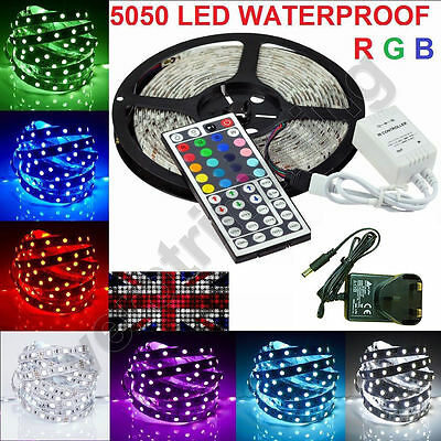3528 5050 5/10/15/20M SMD LED Strip Tape Roll Warm Cool White RGB Wholesale