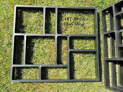 45x40 Paving Brick Patio Concrete Slabs Path Pathmate Garden Walk Maker Mould
