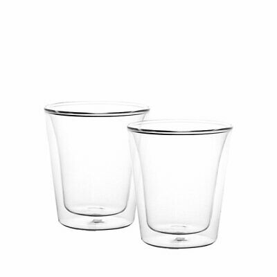 NEW Bodum Canteen 2pc Double Wall Glasses 100ml