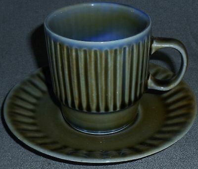 Wade Irish Porcelain SHAMROCK PATTERN Cup and Saucer IRELAND