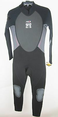 Body Glove Pro 3 Junior Full Wetsuit – Color: Black – Size: 16 – New!!!