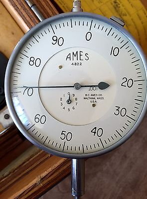Ames 4822 Dial Indicator Bendix Products Div 2551162 Fixture