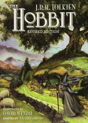 The Hobbit: Graphic Novel by Tolkien, J. R. R. Paperback Book The Cheap Fast