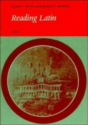 Reading Latin: Text by Jones, Peter V. Paperback Book The Cheap Fast Free Post