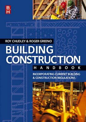 Building Construction Handbook, Roger Greeno Paperback Book The Cheap Fast Free